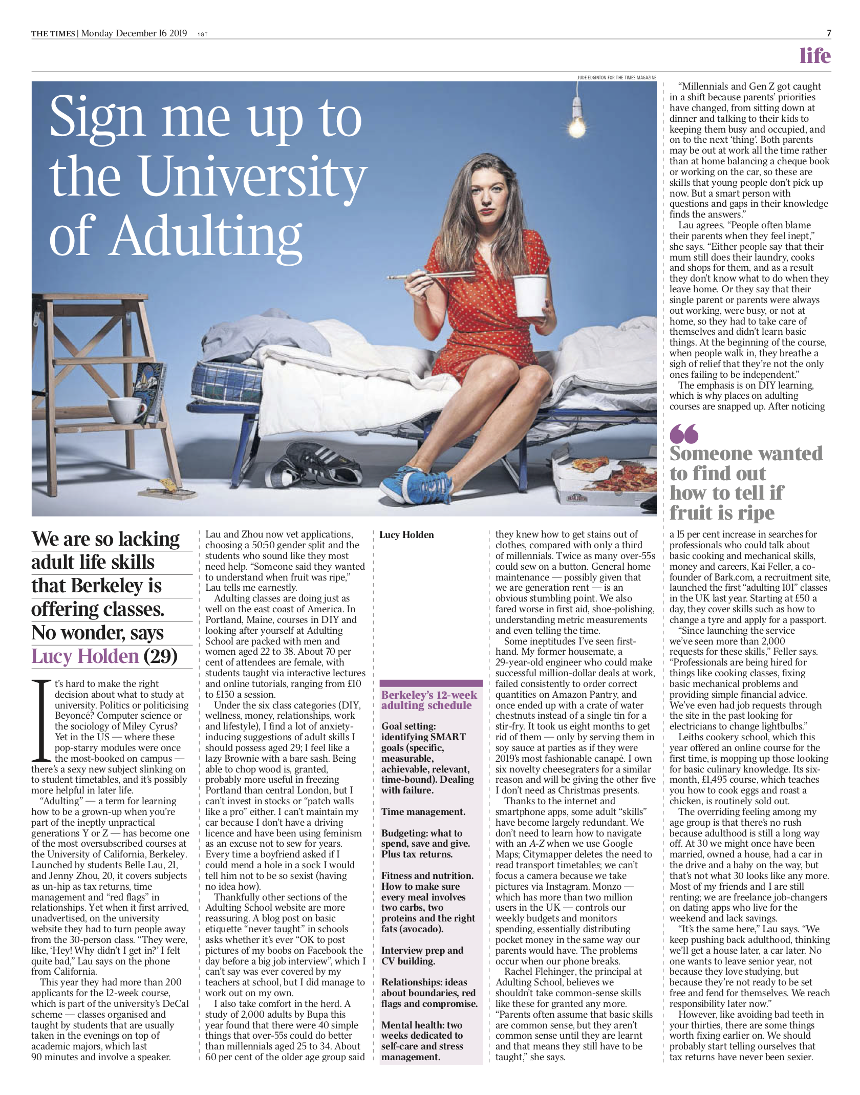 Adulting - The Times